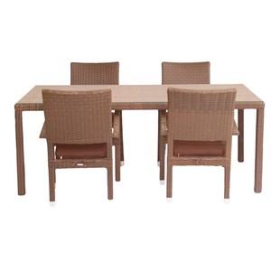 Набор мебели Клермон коричневый, коричневый CK002