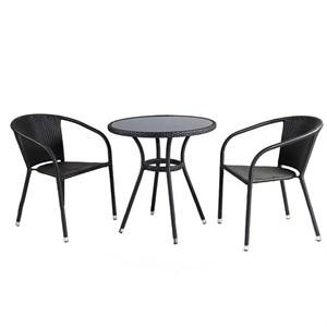 Набор мебели Кафе мини темно-коричневый ZR130+ZR21321