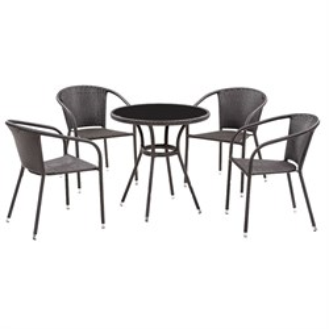 Набор мебели Кафе темно-коричневый ZR213+ZR21321