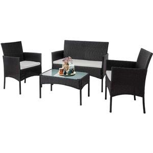 Набор мебели Доминика темно-коричневый, серый Garden story SFS003