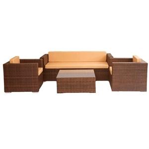 Набор мебели Гранд коричневый/коричневый CG005