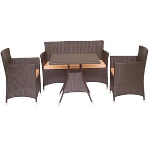 Набор мебели Асгард коричневый/бежевый CA003