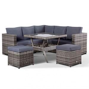 Набор мебели Аруба модульный серый/серый Garden story SFS096