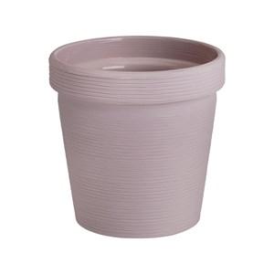 Кашпо Терра 1,1л бежево-розовый