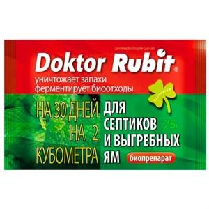 Доктор Рубит для выгребных ям и септиков 75г - фото 96031