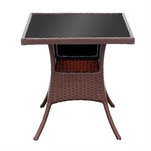 Стол к набору Монреаль мини B681-1 (каркас колорадо, столешница тонированная)