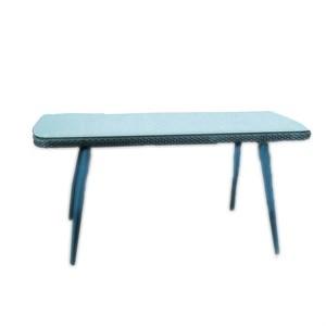 Стол к набору Ливорно Т-521 мини (каркас коричневый, столешница прозрачная)