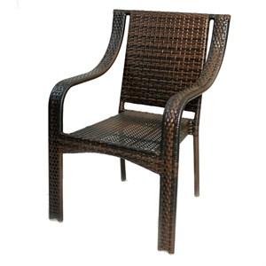 Кресло к набору Жаклин #296 коричневый, коричневый