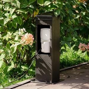 Розетка садовая низкая для подключения двух приборов 54-707