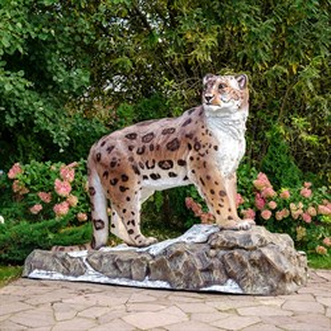 Фигура садовая Снежный барс U08983