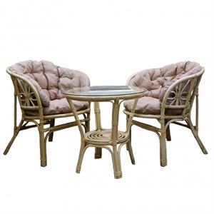 Набор мебели Багамы Премиум мини BTS01/1-МТ001 медовый, бежевый Garden story