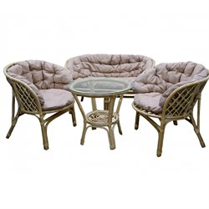 Набор мебели Багамы Премиум BS001/1-МТ001 медовый, бежевый Garden story