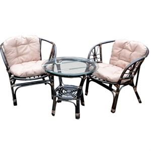 Набор мебели Багамы Мини BТS01-МТ002 коньячный, бежевый Garden story