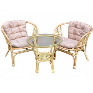 Набор мебели Багамы Мини BТS01-МТ001 медовый, бежевый Garden story