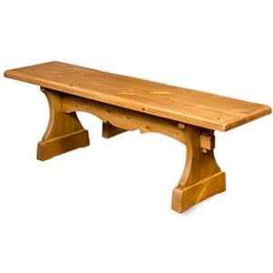 Скамья для отдыxа деревянная БАН-01