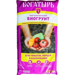 Грунт Богатырь для томатов,перца и баклажанов 60л