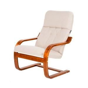 Кресло  Сайма мебельная ткань светлобежевый, вишня М188МТ001
