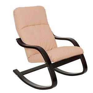 Кресло качалка Эйр слоновая кость, венге М189МТ003