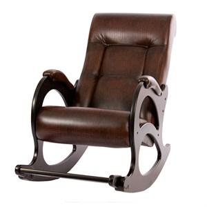 Кресло качалка Орегон №44 коричневый, венге, коричневый К672