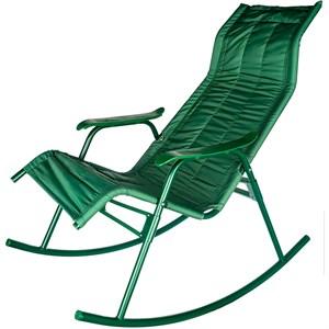 Кресло качалка Нарочь зеленый, зеленый, без м/э с238