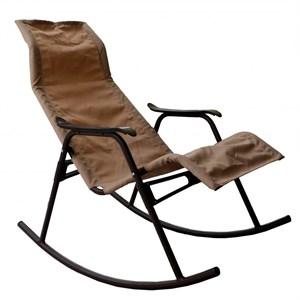 Кресло качалка Нарочь коричневый, коричневый, без м/э с1071