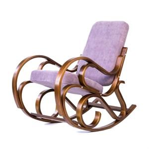 Кресло качалка Луиза лиловый, вишня GT3571