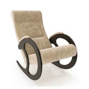 Кресло качалка Ева №3 бежевый, венге, бежевый К671МТ001