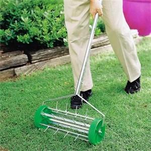 Аэратор газонный с металлическим черенком Палисад
