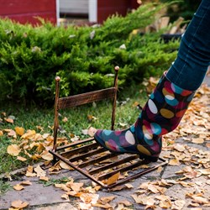 Декроттуар для обуви с решеткой металл 62-013