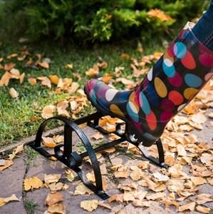 Декроттуар для садовой обуви низкий 62-006