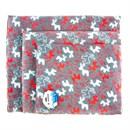 Лежак коврик S прямоугольный с оленями+игрушка 50*40см