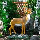 Садовая фигура Косуля