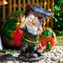 Фигура Гном с петухом - фото 62717