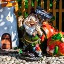 Фигура Гном с петухом - фото 62718