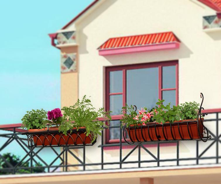 Подставки для цветов балконные. купить с доставкой по россии.