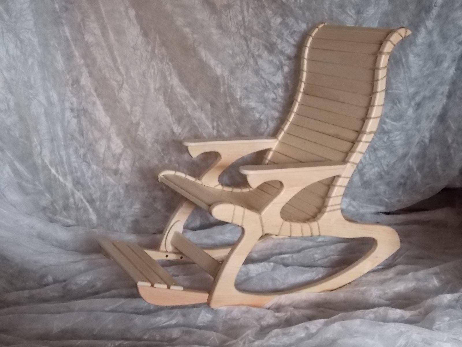 Кресло или кресло качалка своими руками